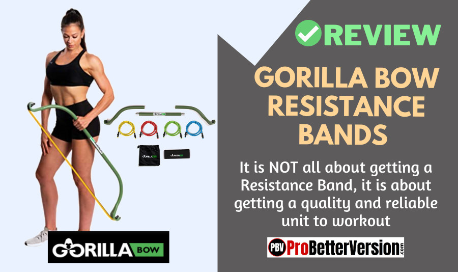 Gorilla Bow Resistance Bands Review