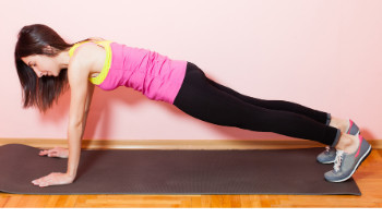 BEST EXERCISES FOR A STRONG BACK - Plank