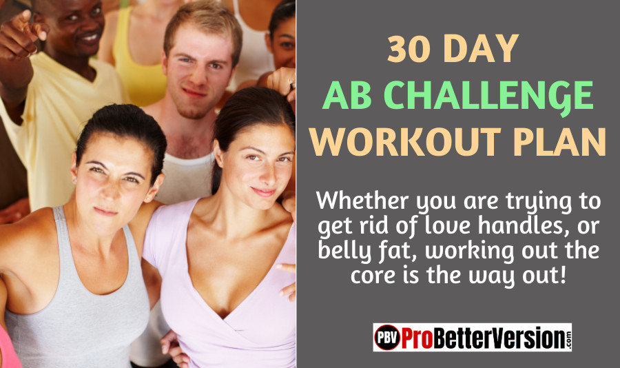 30 day ab challenge workout plan