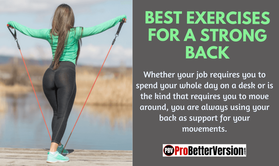 BEST EXERCISES FOR A STRONG BACK1