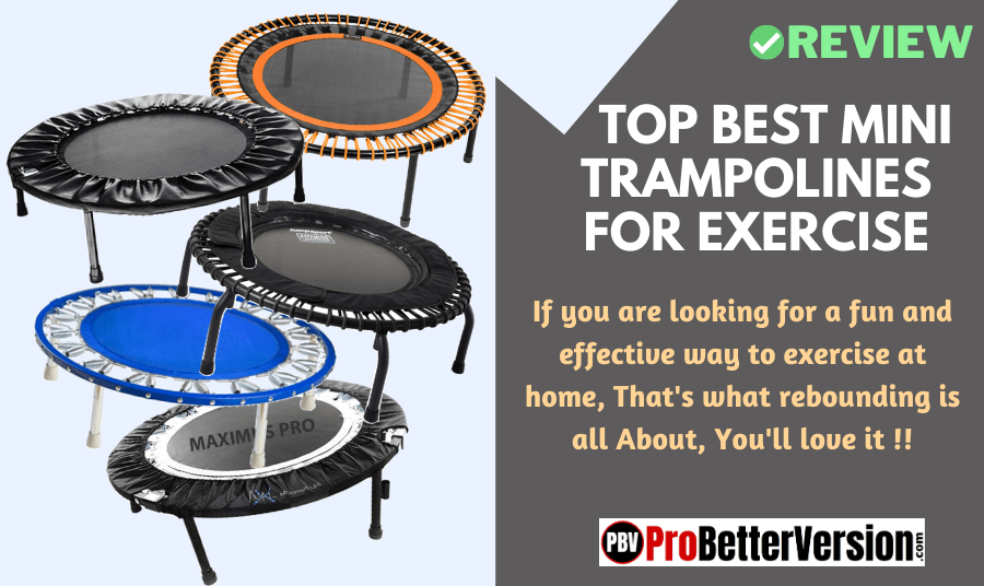 Best mini trampolines for exercise