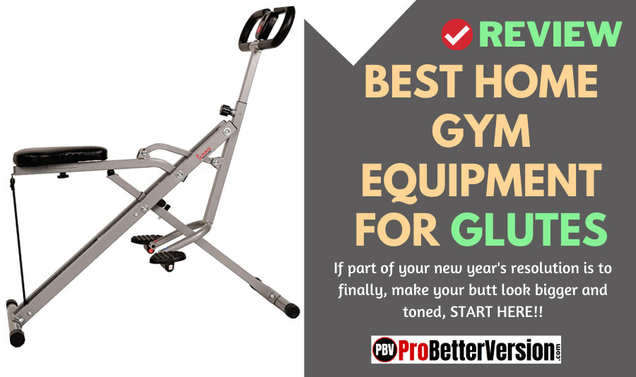 Best home gym equipment for glutes