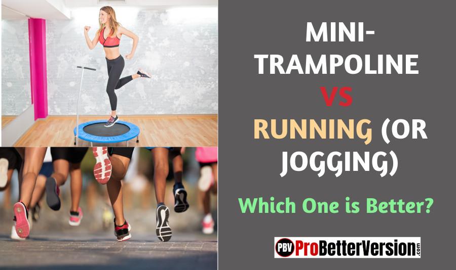 Jumping on a Trampoline vs Running