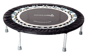 Best Rated Mini Trampolines Under $200 -MaXimus HIIT Bounce PRO