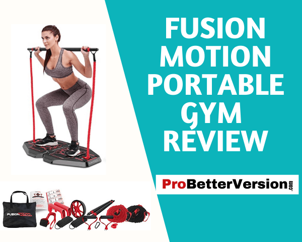 Fusion Motion Portable Gym Review