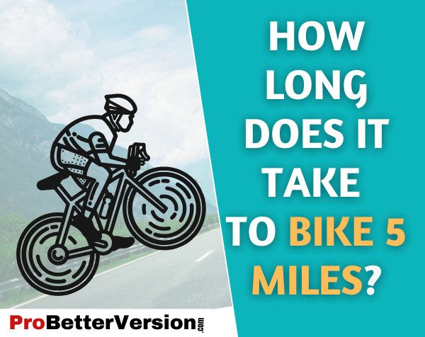 How Long Does It Take to Bike 5 Miles